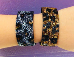 Fashion Animal Print Beaded Bracelet