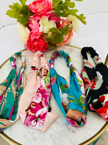 Fashion flower cloth headbands