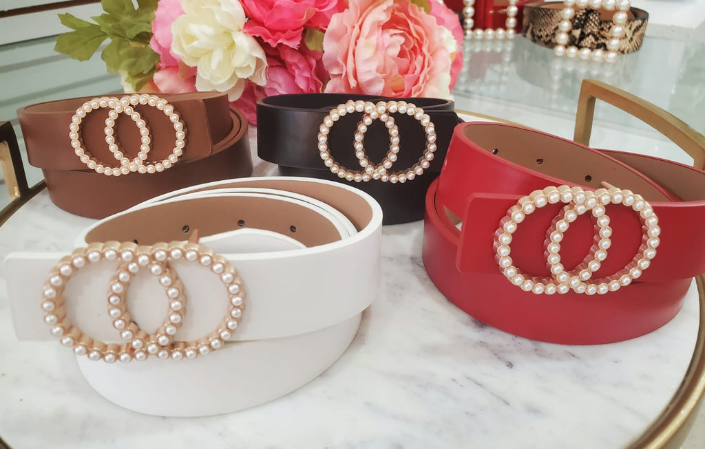 Fashion Pearl Belts