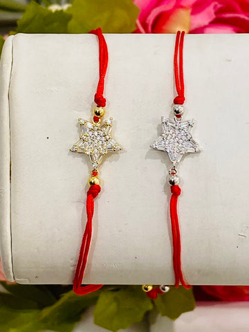 .925 Sterling silver star adjustable bracelets