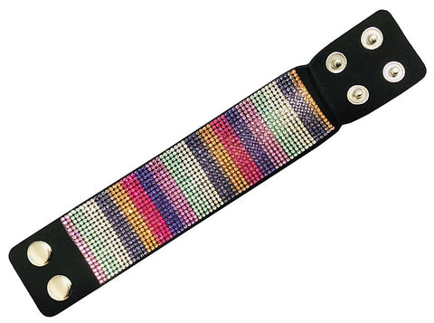 Leather Multicolor Bracelet