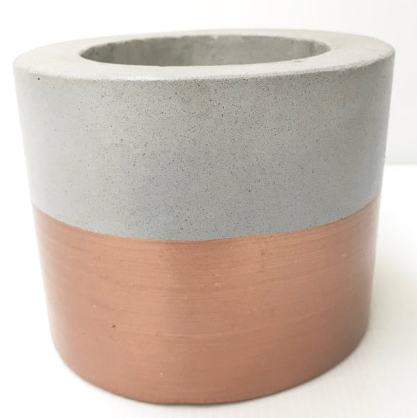 Cement Pot - Short Cylinder