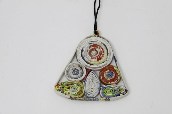 Christmas Decoration Paper Bell Multicolor 1