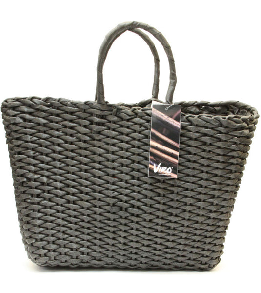 Water Hycinth Viro Basket – Black (Square Shaped)