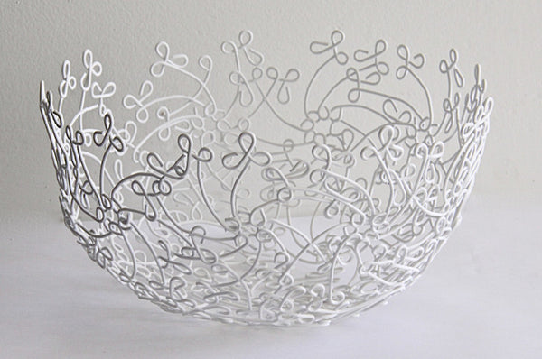 Bowl Wire Flower 1