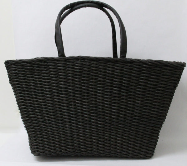 Best Beach Basket – Big Square Black 1