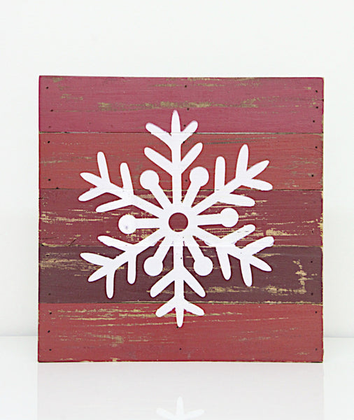 Snow Flake Wall Decor