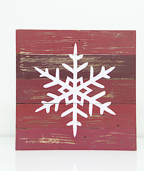 Wall Decor Snow Flake