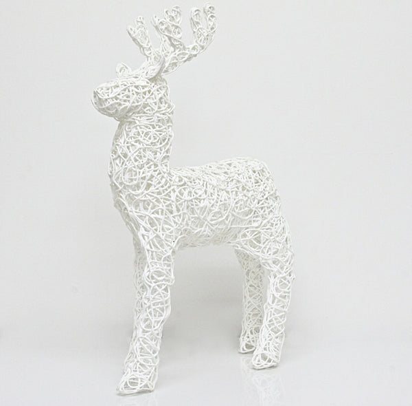 Christmas Decoration Thread Reindeer 1