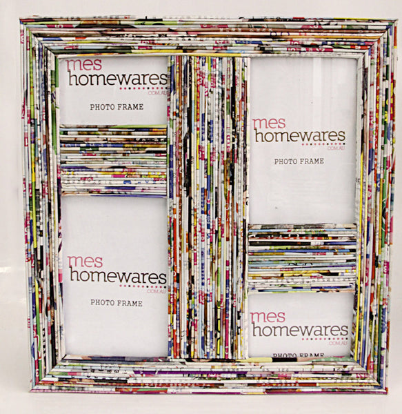 Photo Frame Rectangular paper photo frame (4 frame) 27x26 1
