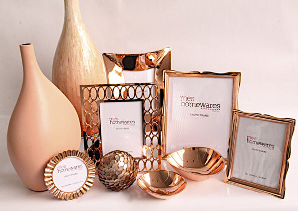Copper and Pink Range