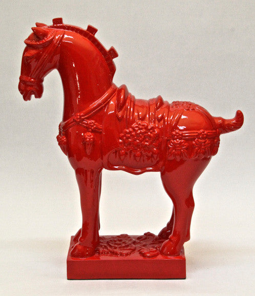 Horse – Glossy Red (Height 40cm)