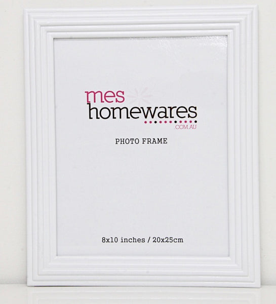 Photo Frame White Border