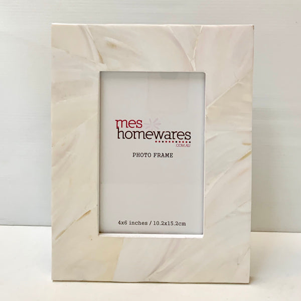 Photo Frame Luxe Mother of Pearl