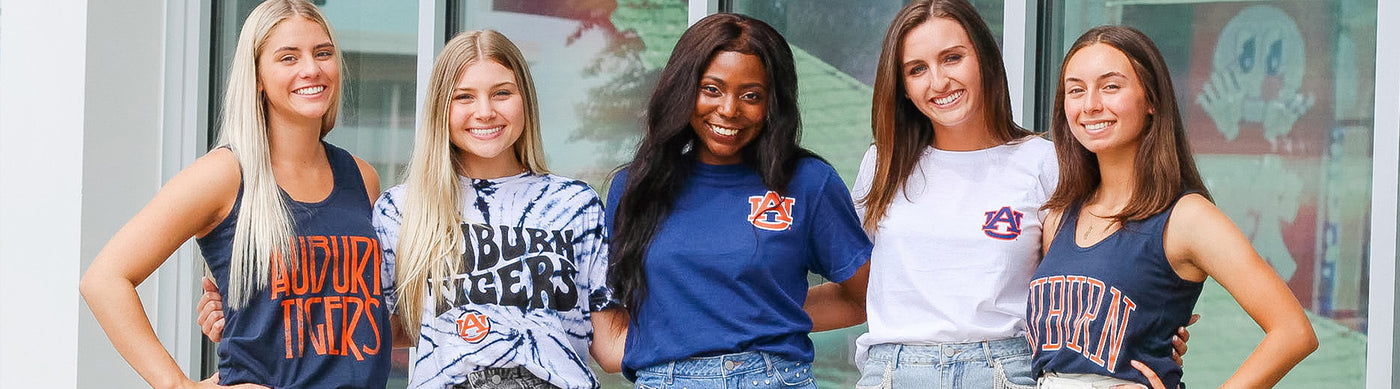 Auburn University Tigers Ladies Apparel