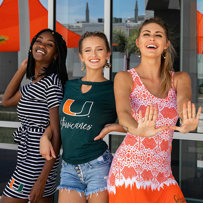 University of Miami Hurricanes Ladies Apparel