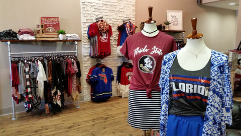 florida state seminoles, university of florida gators women's apparel