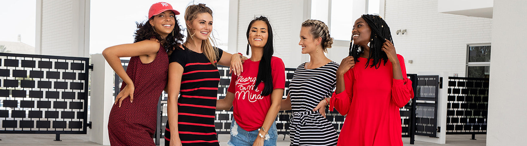 aacd45b86ba20 You will love our growing selection of University of Georgia Bulldogs Women's  apparel! Tired of wearing the same old generic t-shirt to UGA game day?!