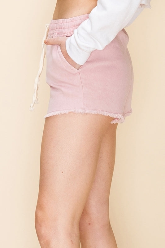 The Living in Paradise Shorts (Blush)