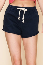 The Living in Paradise Shorts (Navy)