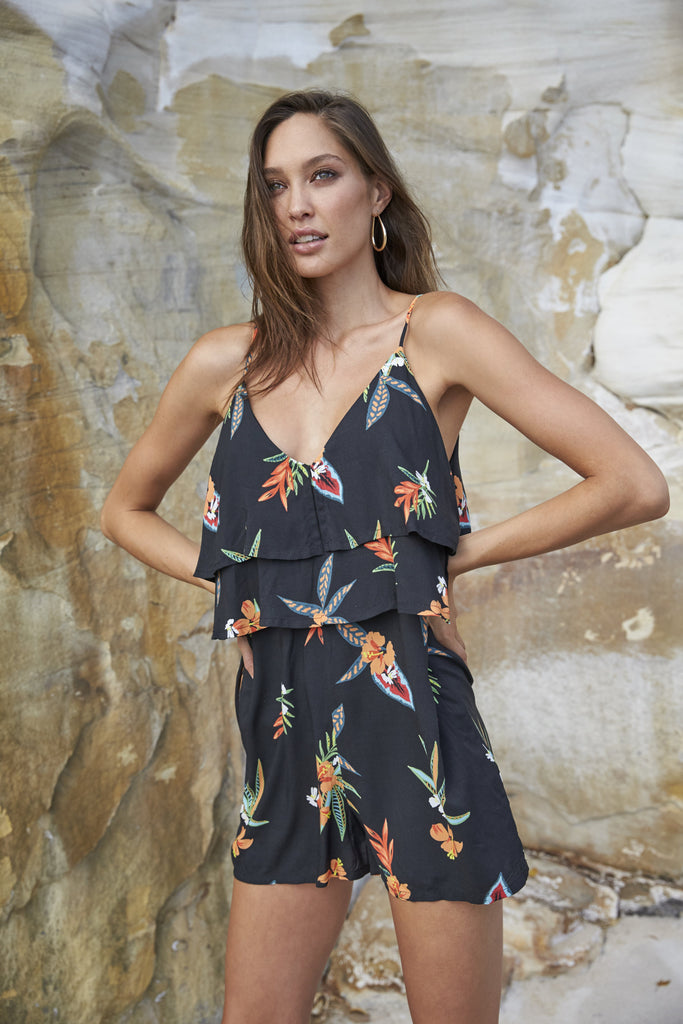 Sunkissed Layered Playsuit