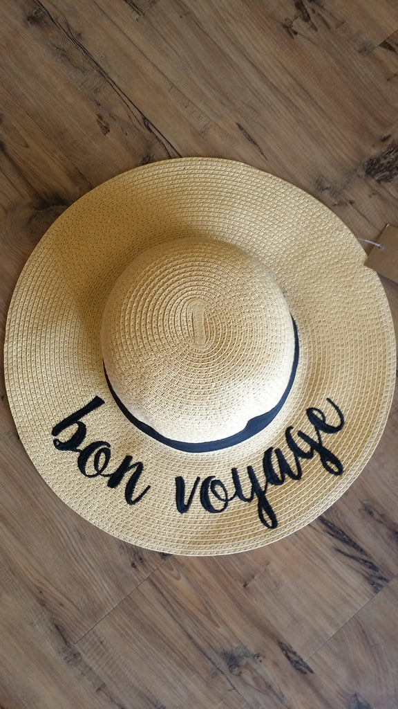 Bon Voyage Sun Hat Hat Bows and Arrows Co LLC - Bows and Arrows FSU Seminoles and UF Gators Women's Game Day Dresses and Apparel