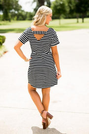 Alabama Pretty Little Stripes Dress Dress Game Day Couture - Bows and Arrows FSU Seminoles and UF Gators Women's Game Day Dresses and Apparel (886609182768)
