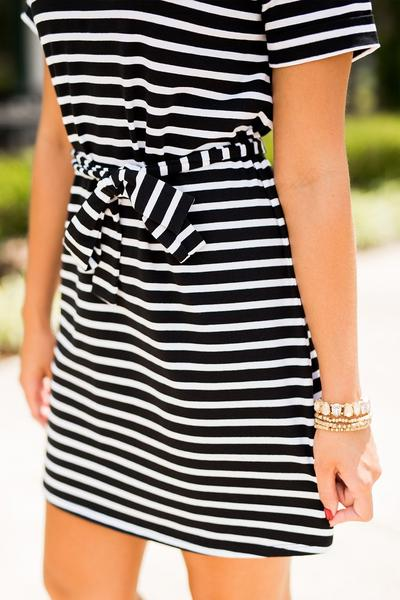 Ohio State Pretty Little Stripes Dress