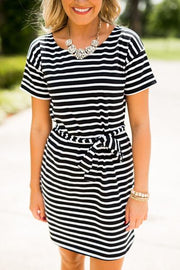 Ohio State Pretty Little Stripes Dress (886609510448)