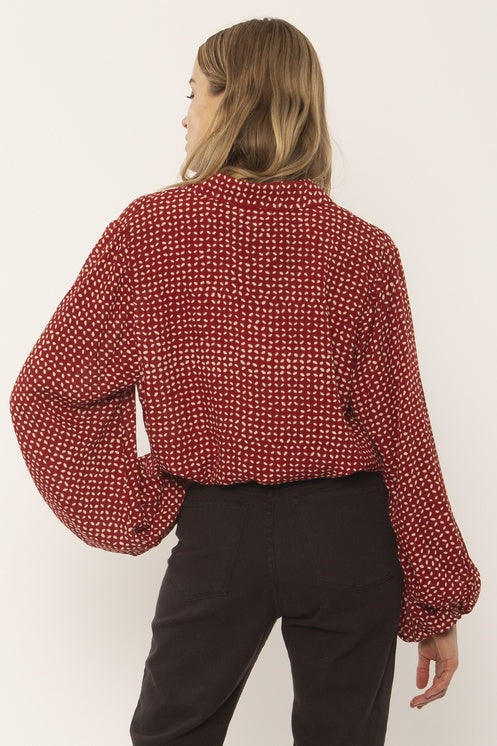 The Camille Woven Blouse