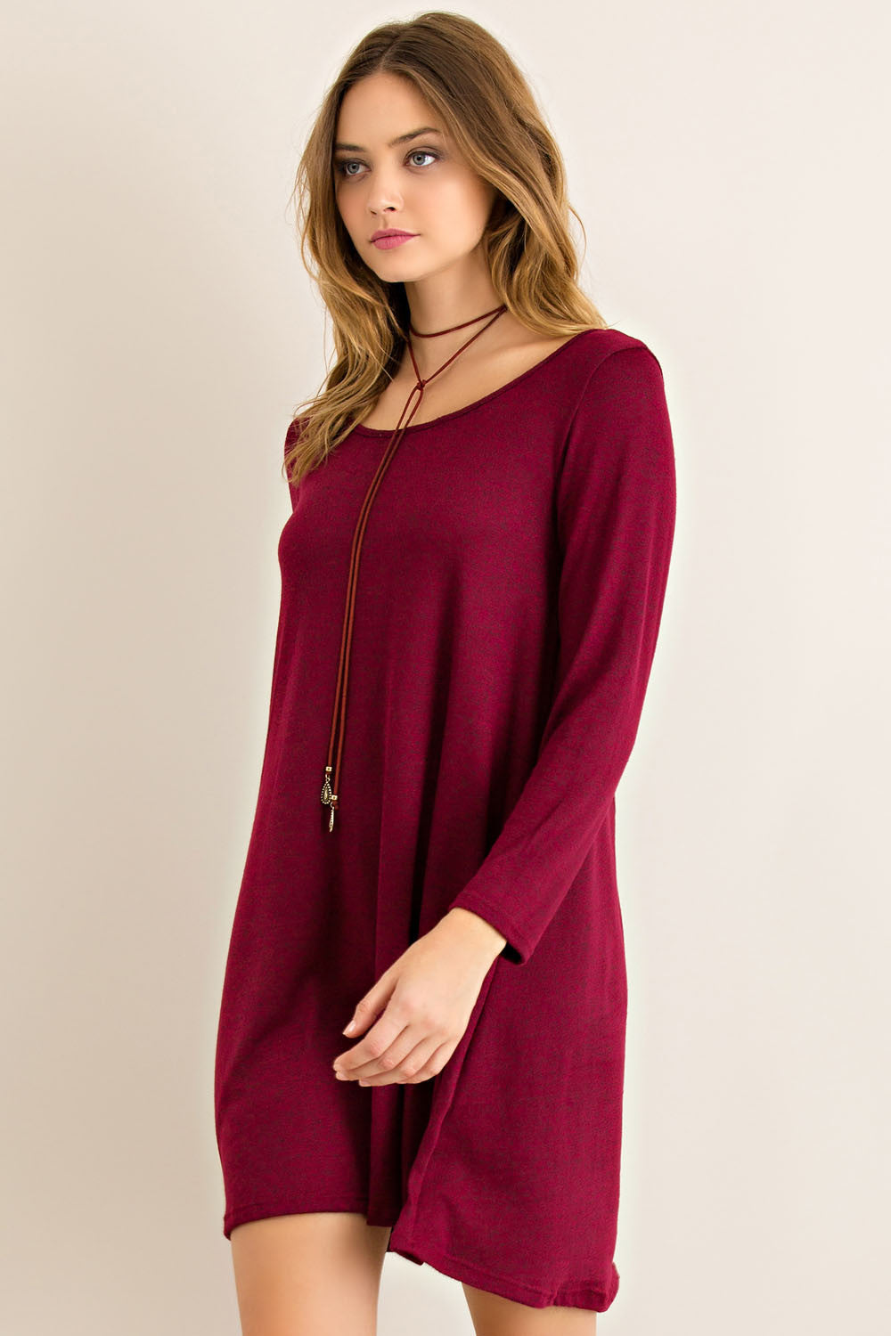 Garnet Tee Shirt Game Day Dress