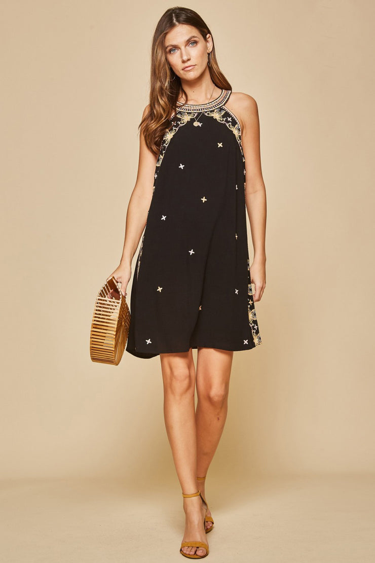 The Palm Beach A-Line Dress