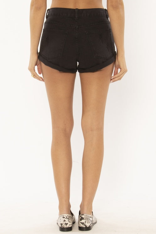 The Crossroads Short (Off Black)
