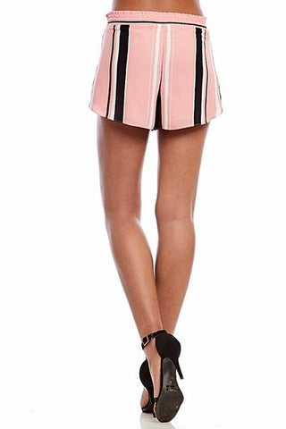 Kenton Pink Stripe Shorts