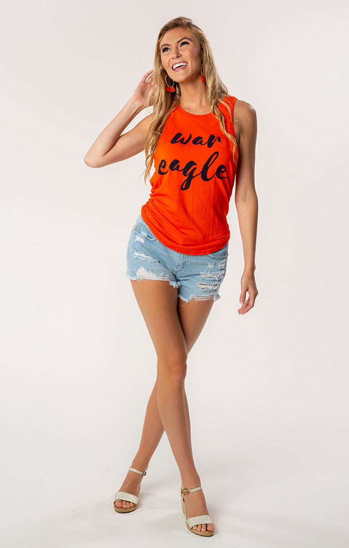 War Eagle Legend Open Back Tank (3771611414576)