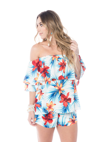 Bay Breeze Bali Off Shoulder Top