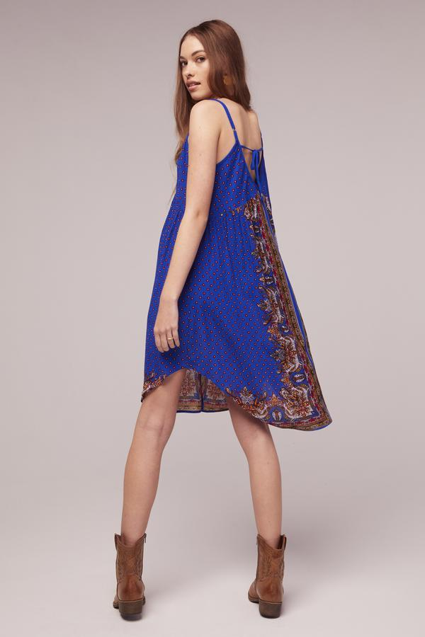 The Honor Scarf Print Dress