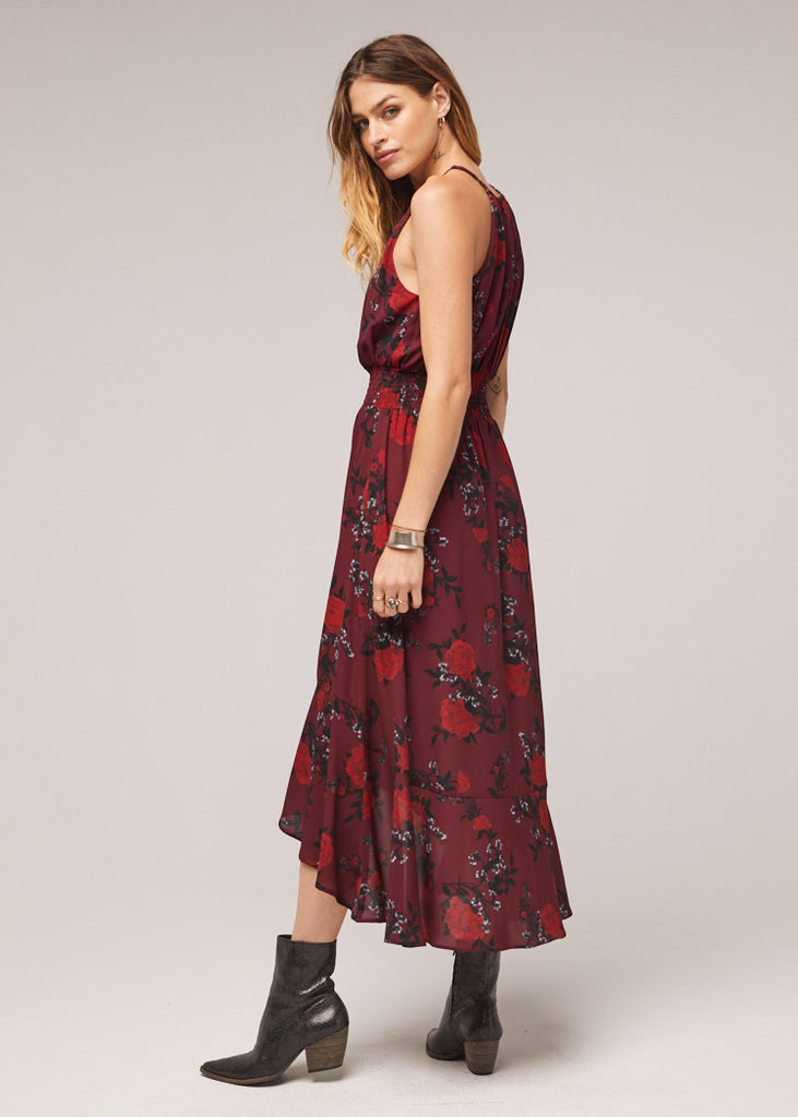 The Mason High-Lo Floral Maxi Dress