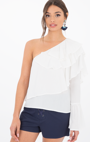 Charlize One Shoulder Blouse