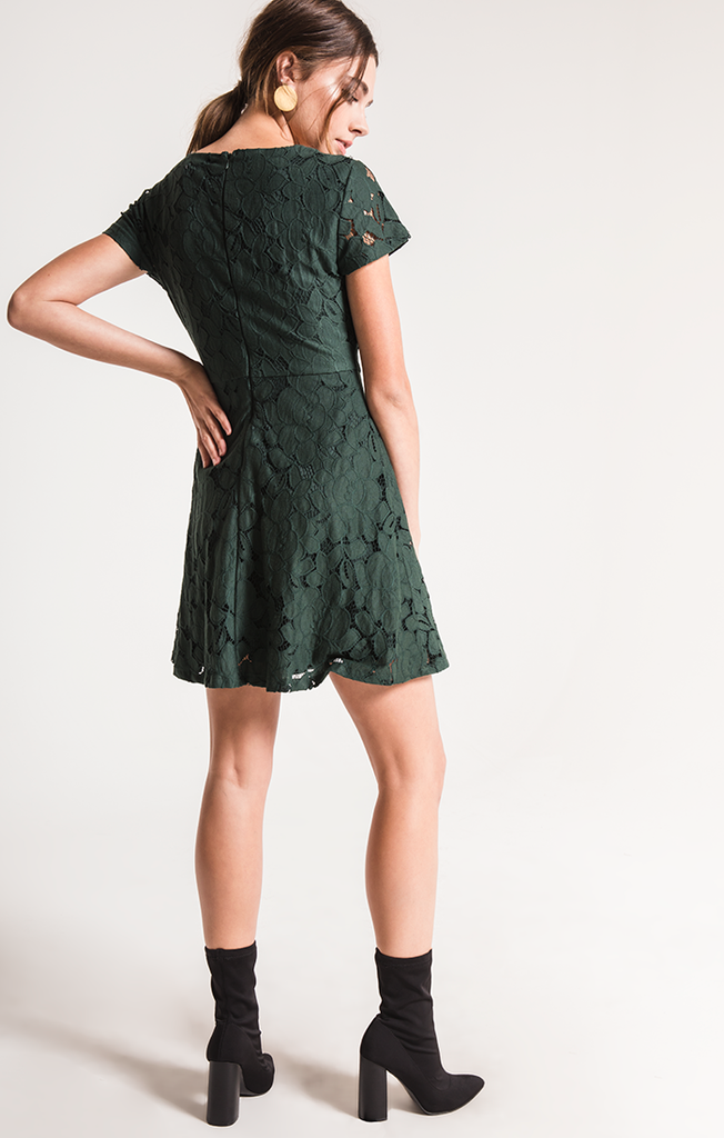 Tia Green Gables Lace Dress