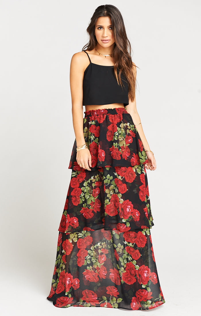 Budding Romance Karla Convertible Skirt