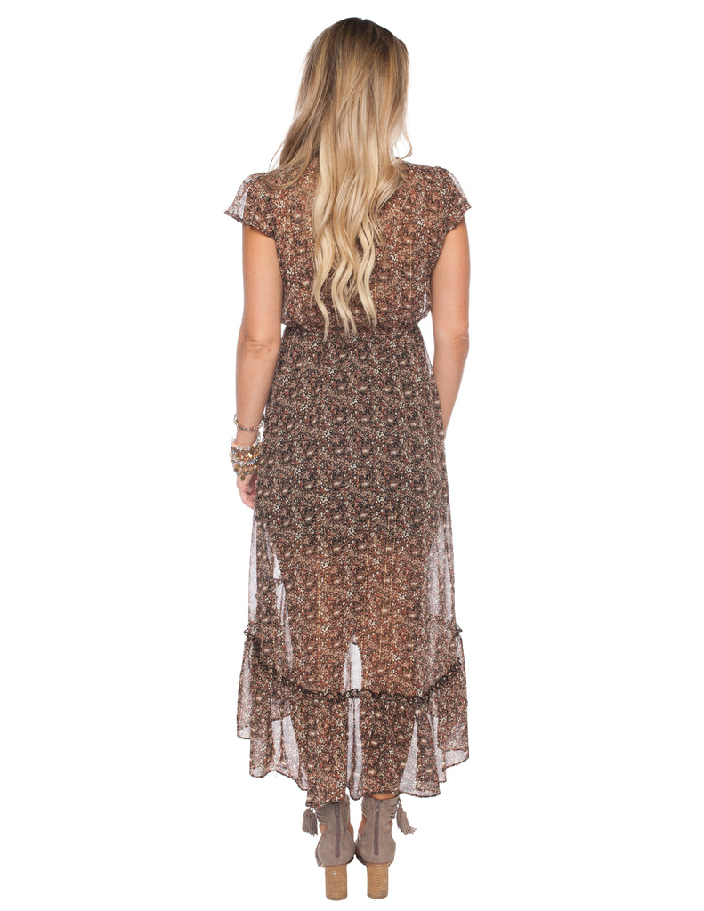 Gillian Ditzy Midi Dress