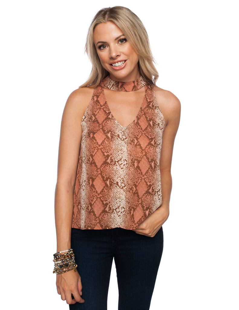 The Date Desert Snake Top