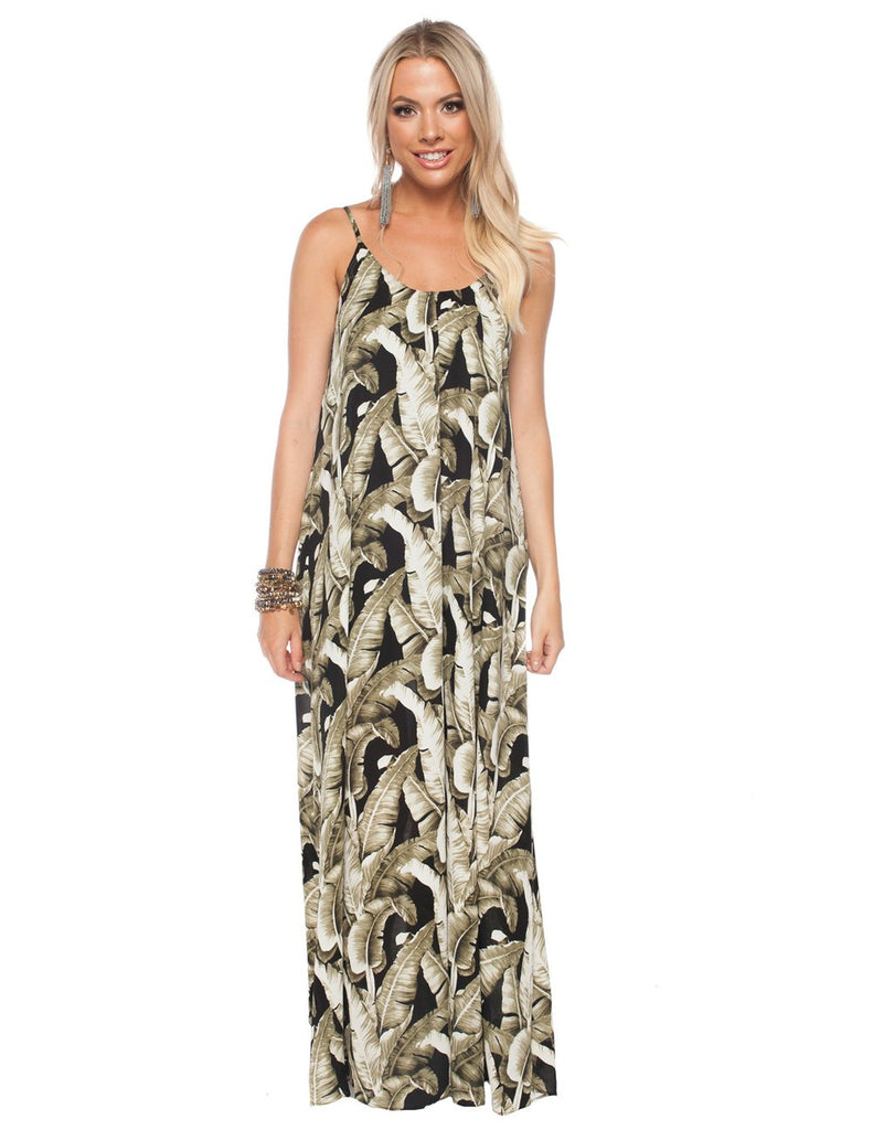 The Panama Plantana Maxi Dress