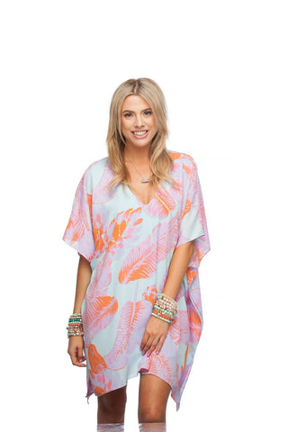Pina Colada Sea Grape Tunic Top