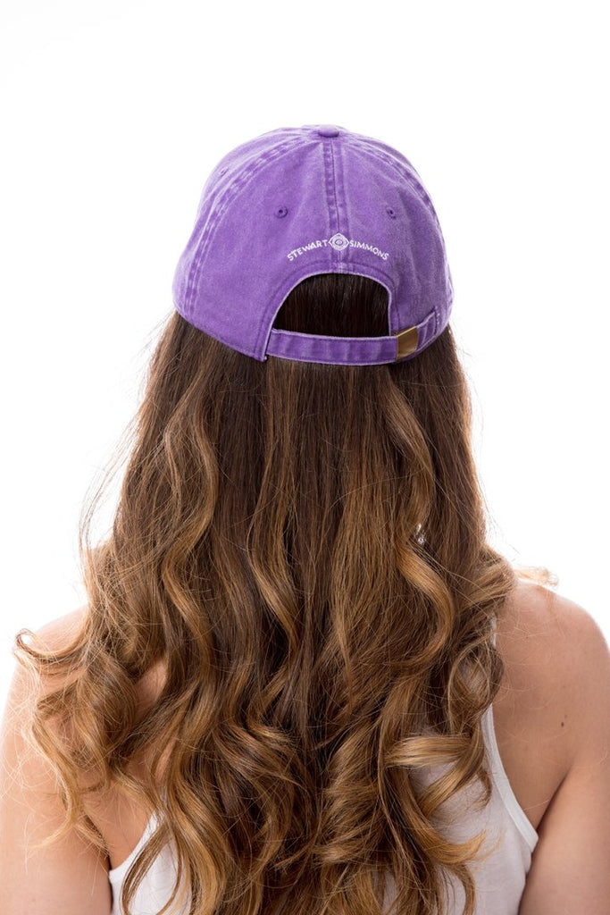 The Tiger Vintage Wash Baseball Hat - Purple