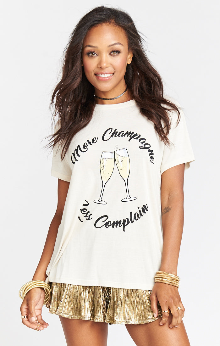 Coalson More Champagne Graphic Tee