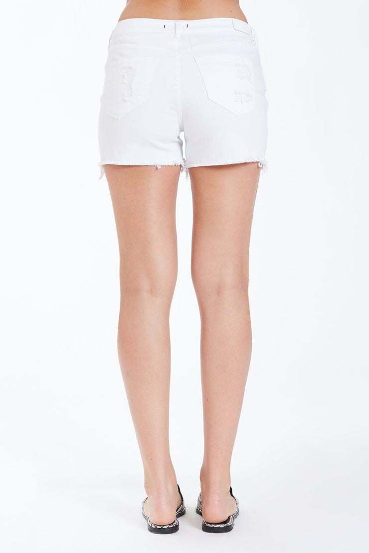 Gigi High Rise Short (Optic White) (2280397930544)