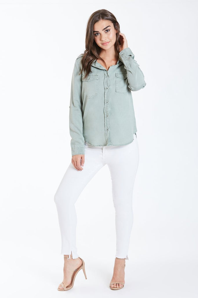The Allison Button Down Top