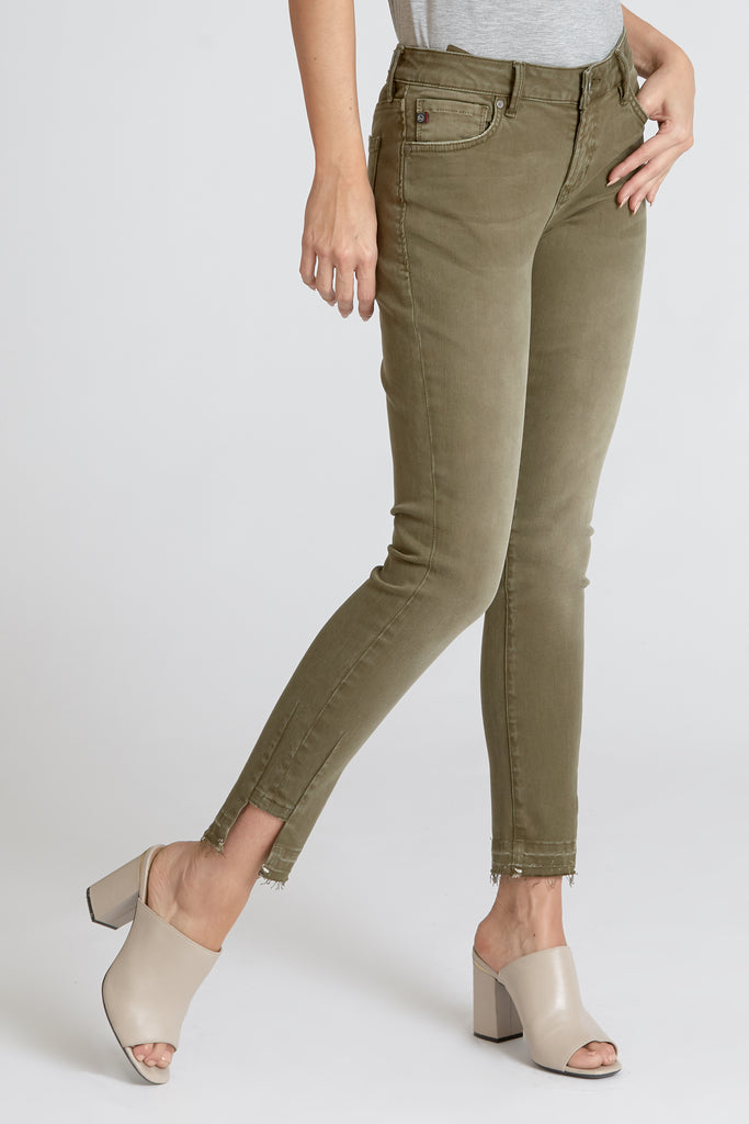 The Joyrich Skinny Denim - Olive